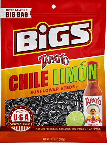 Lime Salted Sauce - BIGS Vlasic Dill Pickle Sunflower Seeds, 5.35-Ounce Bags (Pack of 12)