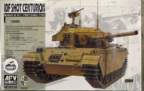 (AFV Club Models 1/35 IDF Centurion Sho't MK.5 1960 / Shot MK 5.1 1967 )