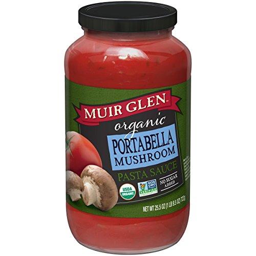 Mushroom Portabella Pasta (Muir Glen Organic Portabello Mushroom Pasta Sauce, 25.5 oz)