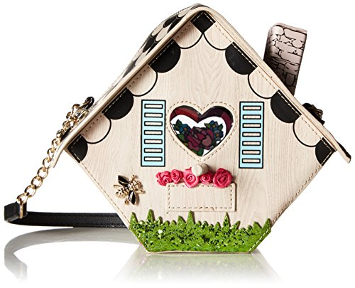 Betsey Johnson Tweet Home Birdcage Bird House Crossbody, Multi from Betsey Johnson