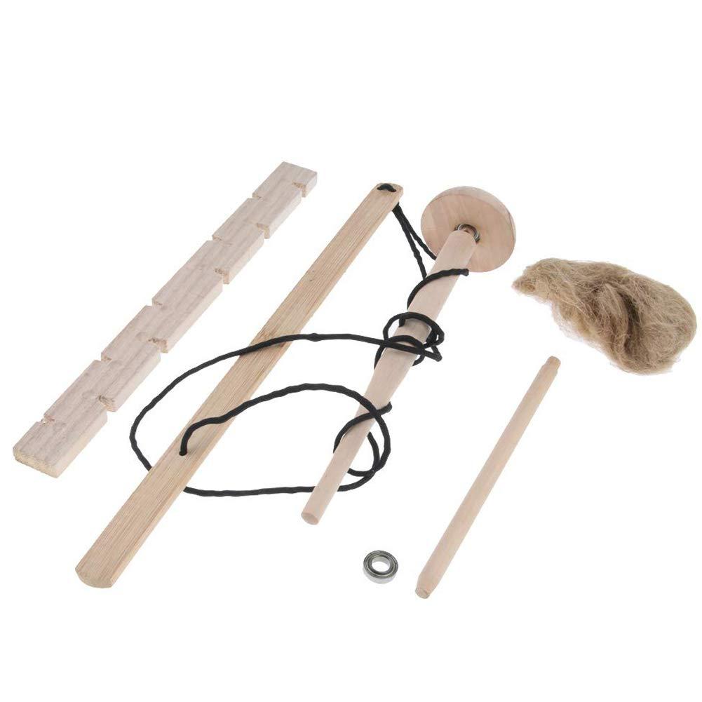 Yililay Arco Taladro Kit de Herramientas primitivas de fricción Fuego al Aire Libre Fire Starter Kit Educativo Herramienta Que acampa Fuego