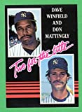 Don Mattingly, Dave Winfield 1985 Donruss (Two for the Title) (Yankees)