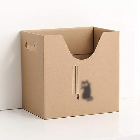 QFFL zhuomianshujia Caja de Almacenamiento de Carpetas Carpeta de Papel Instalar A4 Libro de Documentos de Papel Uso del Estudiante Uso de Office (5 Patrones) Estanteria de Escritorio (Color : D): Amazon.es: