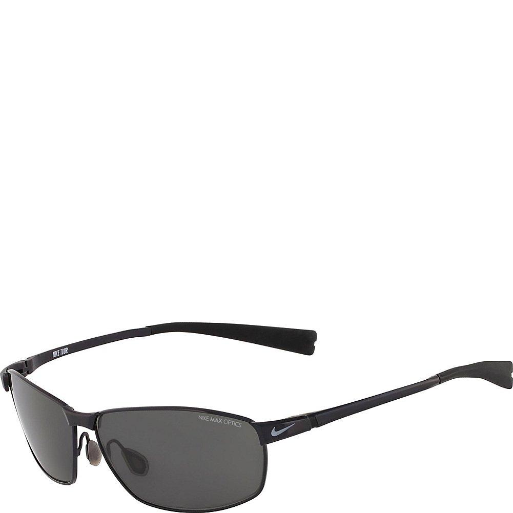 9e7a2dcd1ad4 Nike Tour Sunglasses, Chrome/Squadron Blue, Grey with Blue Flash Lens:  Amazon.ca: Sports & Outdoors