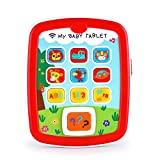 Infant Toys Learning Educational Baby Toys - Baby Tablet Toys 6M+ Boys Girls Music & Light - ABC - Numbers & Color Learning - Baby's First Birthday Gift