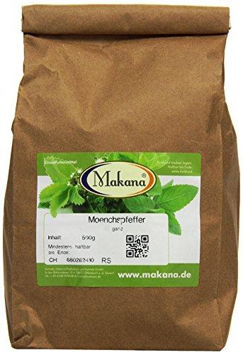 Makana Mönchspfeffer (Keuschlammsamen) ganz, 1er Pack (1 x 500 g)