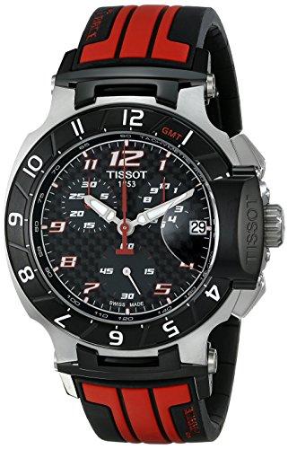 (Tissot Men's T0484172720701 T-Race MotoGP Limited Edition Analog Display Swiss Quartz Red Watch )