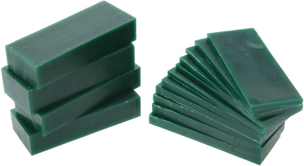 Cera de talla verde 4//6//8//21//23mm de espesor Cera de talla verde Talla de herramientas de grabado de joyas Molde Cera de grabado de talla verde para la fabricaci/ón de anillos artesanales de