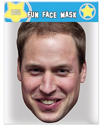 Royal Family Prince William - Celebrity Face Mask -