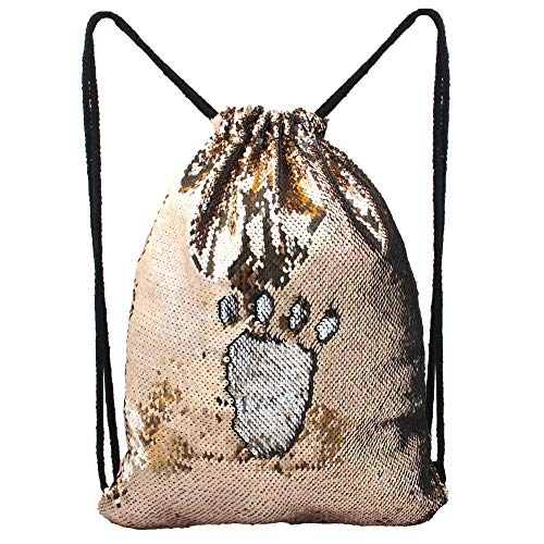 MHJY Mermaid Bag Sequin Drawstring Backpack Dancing for sale  Delivered anywhere in USA