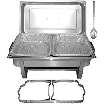 Amazon Com Sterno Pop Up Chafer Set Chafing Dishes
