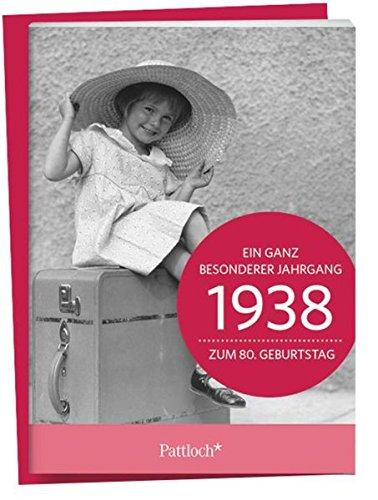 1938 - Ein ganz besonderer Jahrgang Zum 80. Geburtstag: Jahrgangs-Heftchen mit Kuvert