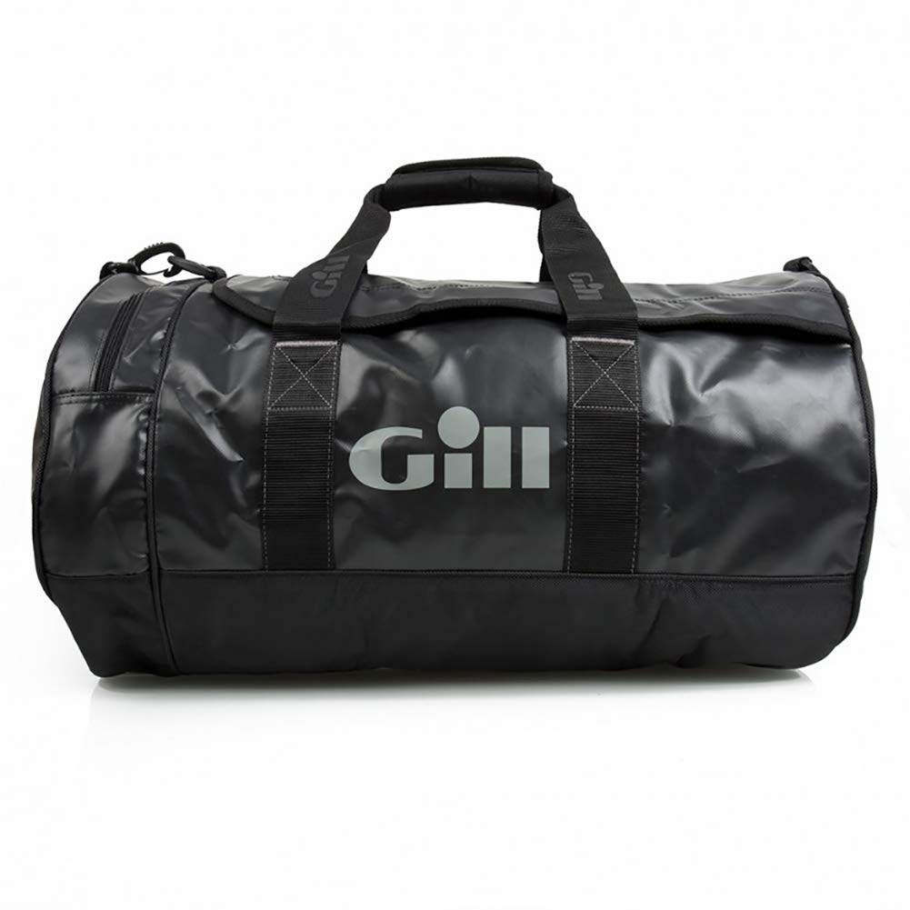 Gill 2016 60L Tarp Barrel Bag Jet Black L061