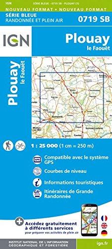 Read Online Plouay / Le Faouet 2017: IGN0719 pdf epub