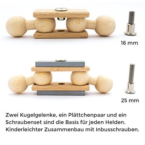 rewoodo Ribble Race Premium Holzspielzeug ab 3 Jahre Made in Germany Motorikspielzeug