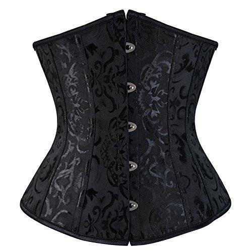 Beautface Makeup corsets Court Corset Body Vest Wedding Girdle Gown Ladies Shaping (Maid Costume Tutorial)
