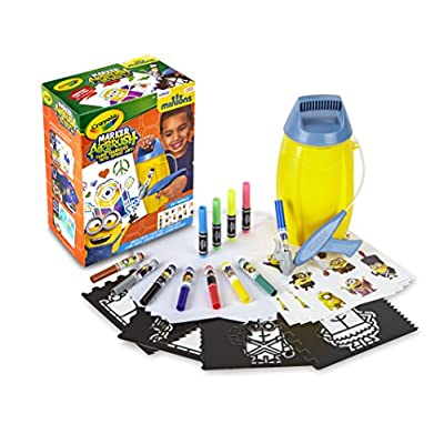 Despicable Me Crayola Minion Marker Airbrush: Office Products