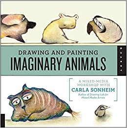 quayside publishing quarry books drawing and painting imaginary animals