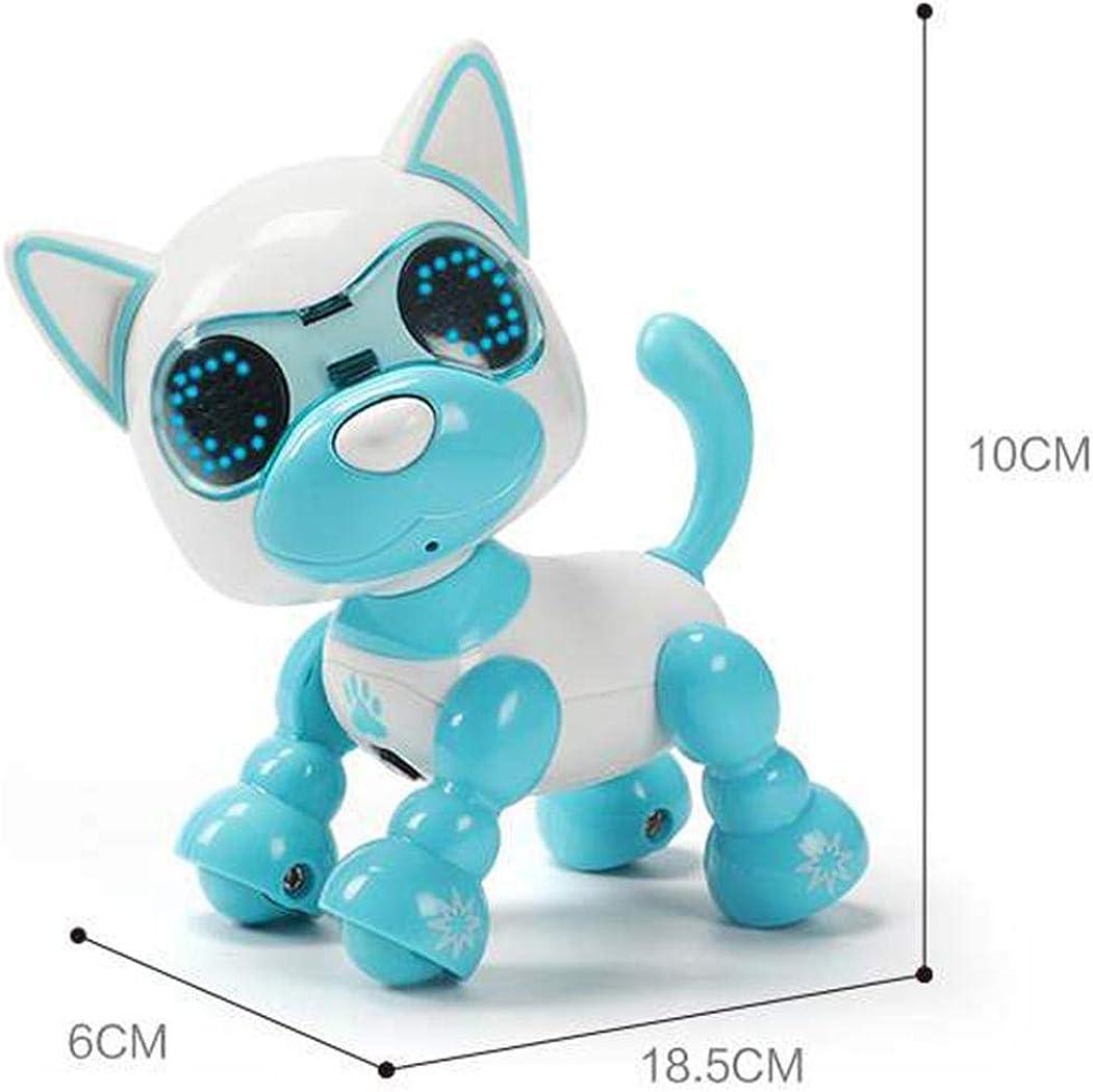 Timesok Giocattolo elettrico dei bambini di puzzle di istruzione precoce di induzione di Smart Touch Robot