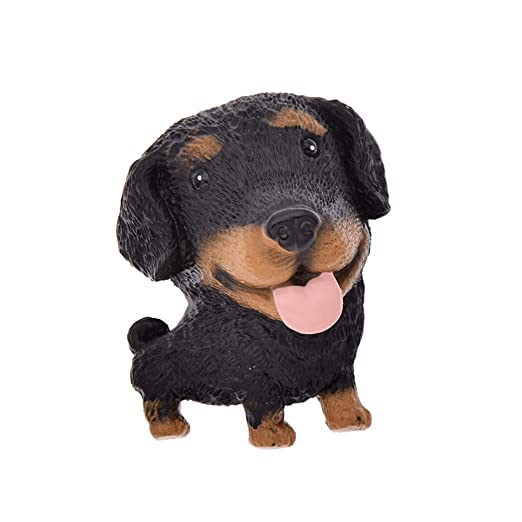Kesheng - Figura de perro pequeño y lindo juguete de resina 3D ...