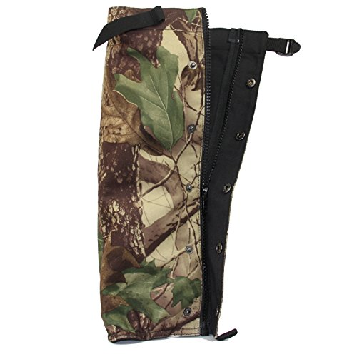 Snake Proof Gaiters (Snake Gaiters- Snake Guards Snake Proof Leggings for Ultimate Snake Bite Protection, Protects Against All Types of Rattlesnakes, and Other Poisonous Snakes by U.S. Solid)