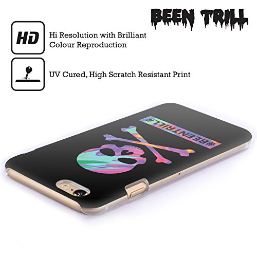 Official Been Trill Skull & Crossbone Colourful Prints Hard Back Case for Apple iPhone 5c