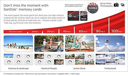 Professional Ultra SanDisk 200GB MicroSDXC GoPro HERO4k HERO4+ HERO4 HERO3+ HERO3 HERO2+ HERO2 card is custom formatted for high speed up to 90MB/s with lossless recording! Includes Standard SD Adapter. [Newest Version] by SanDisk (Image #4)