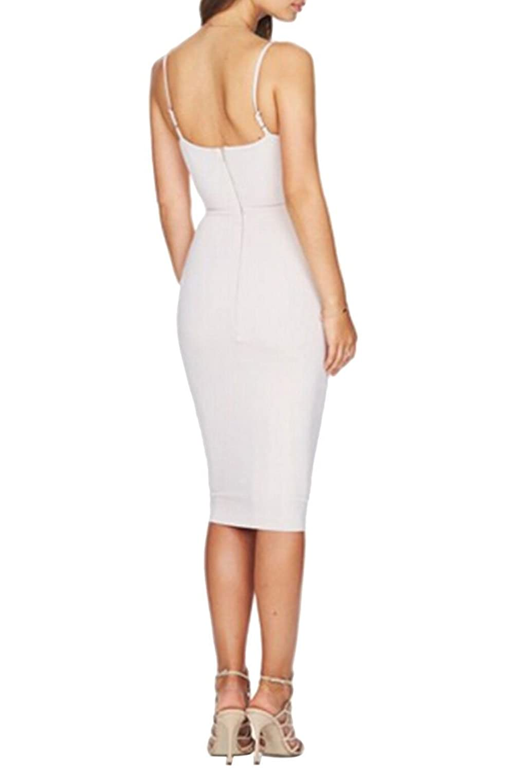 LOV ANNY Womens Sexy Sleeveless Stretch Bodycon Party Bandage Dresses
