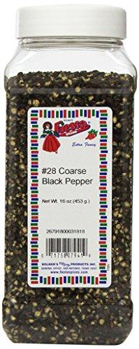 Bolner's Fiesta Extra Fancy #28 Coarse Black Pepper, 16 - Black Pepper Restaurant
