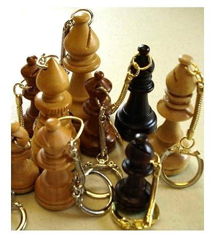 Amazon.com: Obispo de madera llavero: Toys & Games