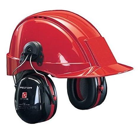 3M PELTOR Optime III Orejeras para casco Negras 34 dB (1 orejera/caja), H540P3B-413-SV: Amazon.es: Industria, empresas y ciencia
