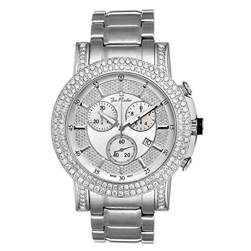 Joe Rodeo JTRO3 Trooper Diamond Watch, White - Dial Watch Diamond White