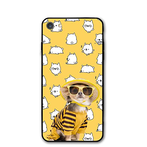 UdlJud Dog Wearing Sunglasses IPhone 7 Case (Sun Face Doorbell)