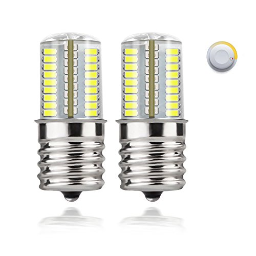 DiCUNO E17 LED Bulb Microwave Oven Light 4 Watt Dimmable Daylight White 6000K 72x3014SMD AC110-130V (Led Oven)
