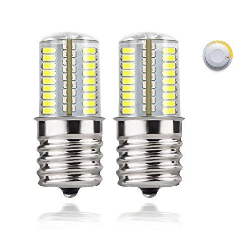 DiCUNO E17 LED Bulb Microwave Oven Light 4 Watt Dimmable Daylight White 6000K 72x3014SMD AC110-130V (Led Oven)