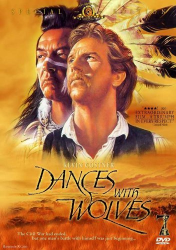 Dances With Wolves POSTER Movie (27 x 40 Inches - 69cm x 102cm) (1990) (Style E)