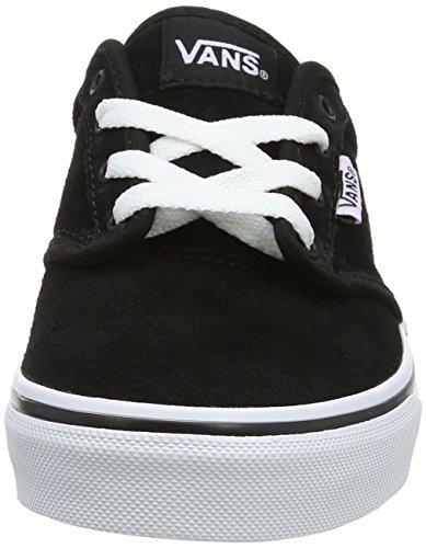 Vans Atwood, Zapatillas de Entrenamiento Unisex Niños Negro (Suede)