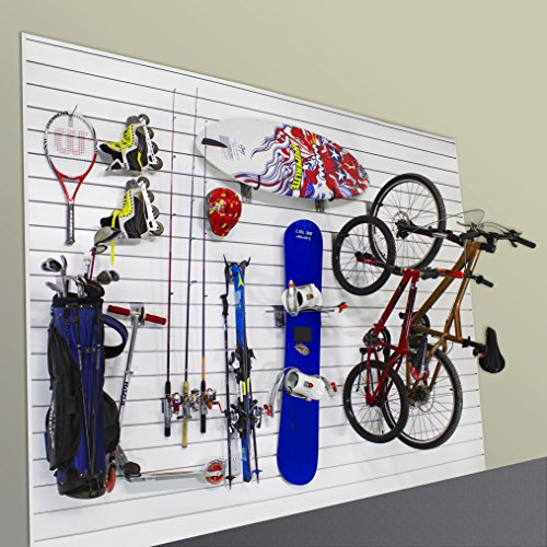 Proslat 11005 Sports Equipment Steel Hook Variety Kit Designed for Proslat PVC Slatwall, 13-Piece by Proslat (Image #2)