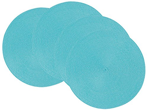 Now Designs Disko Round Placemats, Set of Four,
