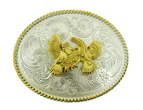 Cock Fighting Retro Vintage Style Rodeo Western Metal Belt Buckle by Dealmedeal