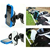 Golf Bag Clip Phone Mount fits the Apple iPhone 3G & 3Gs Smartphones in Cases or Skins