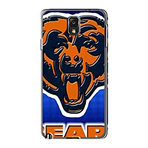 Protective Cell-phone Hard Cover For Samsung Galaxy Note 3 (QRw383AWuG) Allow Personal Design Attractive Chicago Bears Image