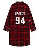 BTS Monster JIN Suga Jimin V Same Shirt Long Sleeve Blouse (One Size, Rap monster)