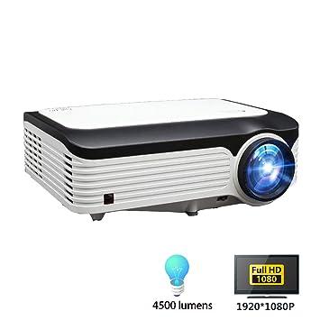 Inson Proyector de Video Full HD 1080P Proyector de Video ...