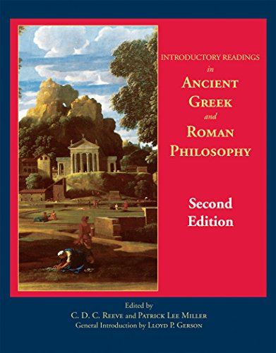 Introductory Readings in Ancient Greek and Roman Philosophy (Miller Primary Collection)