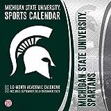 Michigan State Spartans: 2020 12x12 Team Wall Calendar