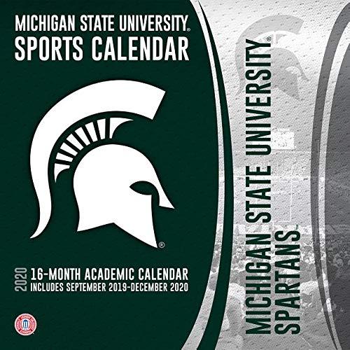 Michigan State Calendar 2020 Michigan State Spartans 2020 Calendar: Inc. Lang Companies