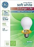 Ge Lighting 70335 Halogen Light Bulb, Soft White, 53 Watts,...
