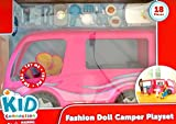 Kid Connection Doll R/V Camper Motor Home - Fits Barbie Dolls
