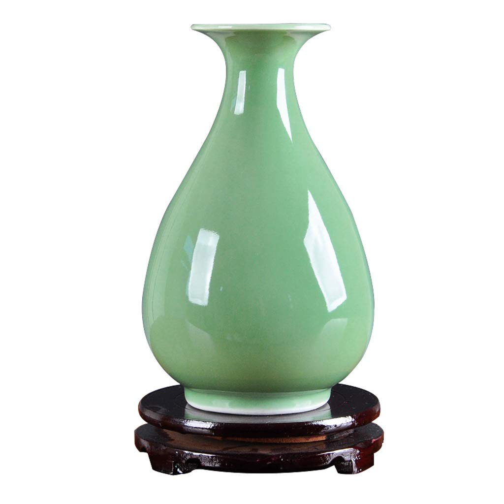 ビンテージ花瓶 花瓶レトロセラミック花瓶リビングルームダイニングルームテレビキャビネットインサート花瓶ホームワインキャビネット装飾花瓶 Xuan - worth having B07RTWPRWY